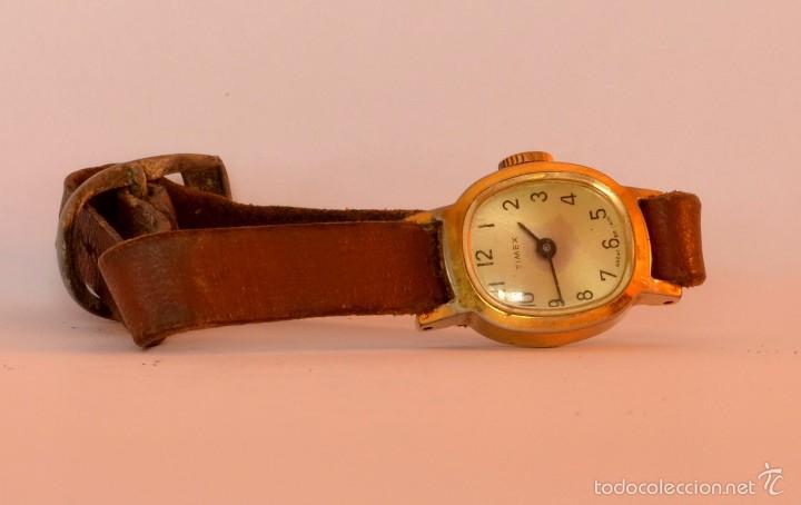 RELOJ DE PULSERA TIMEX, MUJER,CUERDA, VINTAGE (#7) (Relojes - Pulsera Carga Manual)