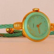 Relojes de pulsera: ORIGINAL RELOJ PULSERA TIMEX , CUERDA, SUPERVINTAGE, MUJER (#9). Lote 56306724