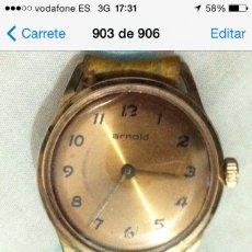 Relojes de pulsera: RELOJ ARNOLD CUERDA. Lote 56369733