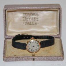 Relojes de pulsera: RE326 RELOJ RODAND. CAJA DE ORO DE 18 KT. NO FUNCIONA. ESPAÑA. AÑOS 30. Lote 134344827