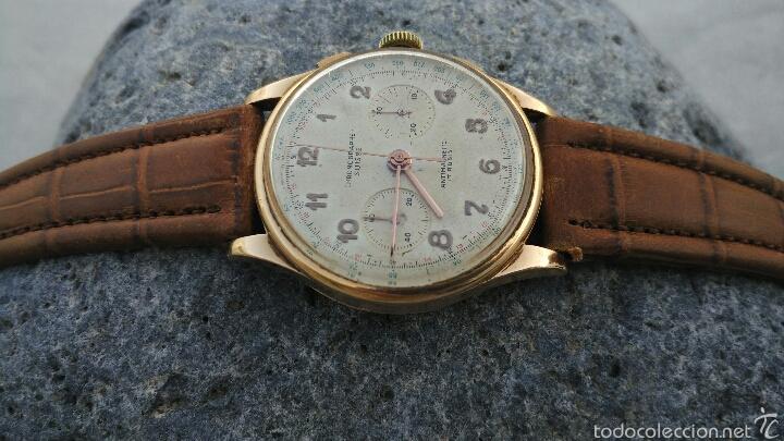 Relojes de pulsera: Cronografo Chonographe Suisse 18 kt - Foto 2 - 56402094