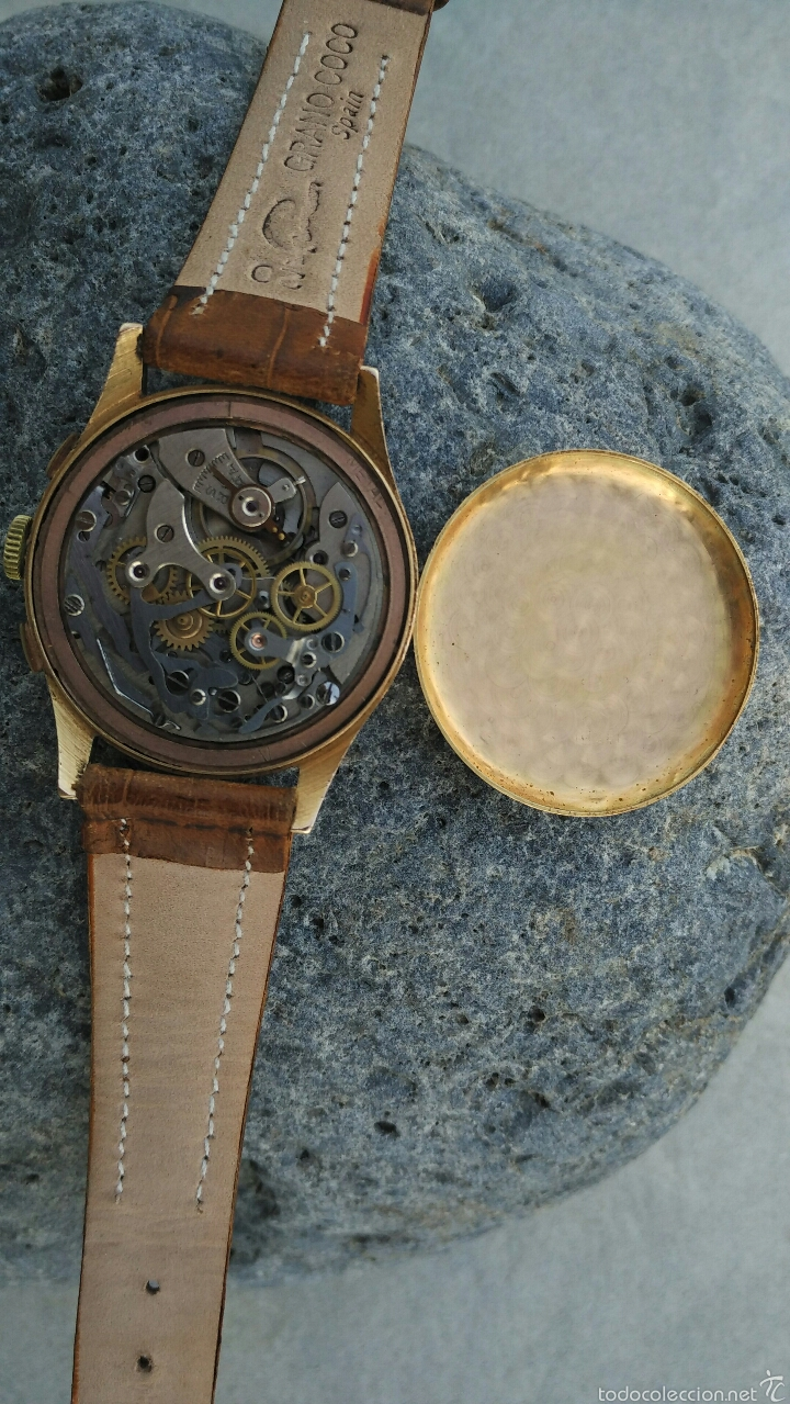 Relojes de pulsera: Cronografo Chonographe Suisse 18 kt - Foto 6 - 56402094