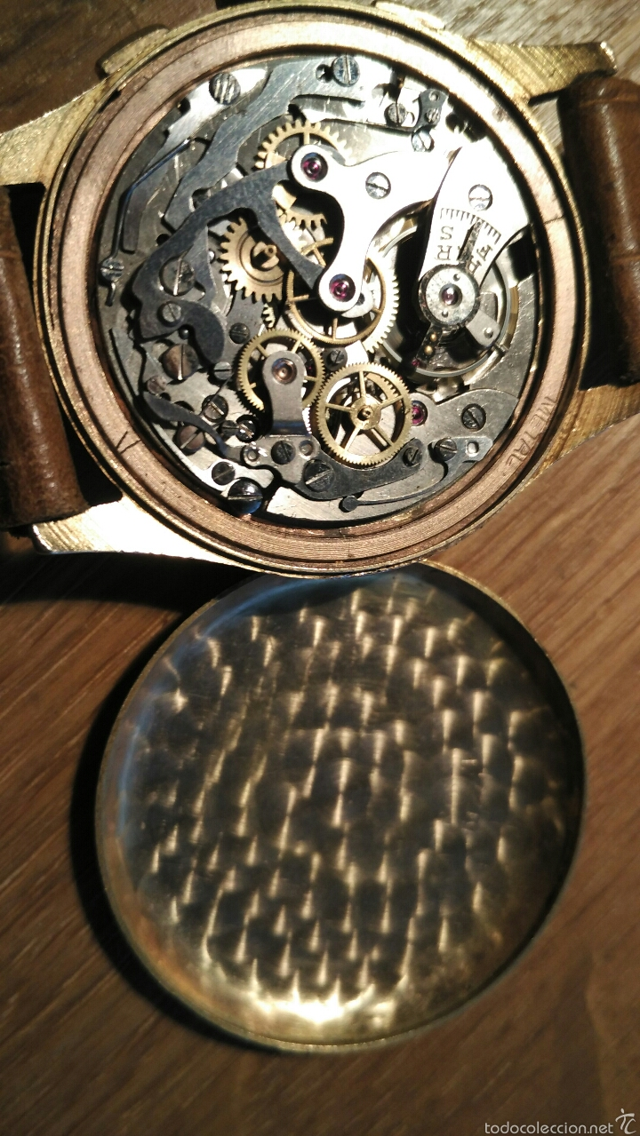 Relojes de pulsera: Cronografo Chonographe Suisse 18 kt - Foto 8 - 56402094