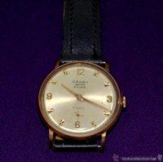 Relojes de pulsera: ANTIGUO RELOJ DE PULSERA CAUNY. SWISS PRIMA. CARGA MANUAL- CUERDA. EN FUNCIONAMIENTO. AÑOS 50-60.. Lote 207409865