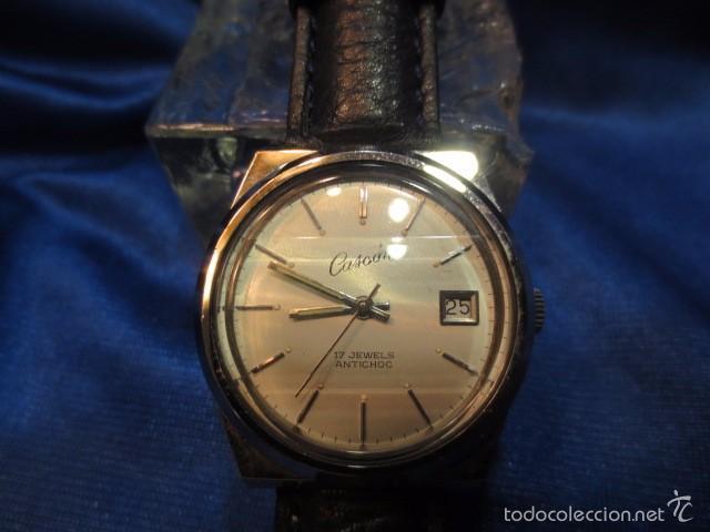 Relojes de pulsera: RELOJ DE PULSERA CASCON CARGA MANUAL EN ACERO - Foto 2 - 56424135