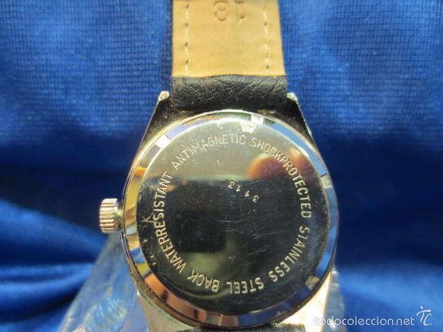 Relojes de pulsera: RELOJ DE PULSERA CASCON CARGA MANUAL EN ACERO - Foto 3 - 56424135