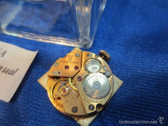 Relojes de pulsera: RELOJ DE PULSERA CUADRADO MARCA FESTINA - Foto 4 - 56426848
