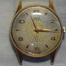 Relojes de pulsera: ANTIGUO RIVER SUIZO - AÑOS 50. FUNCIONANDO BIEN. 38 MM. C/C. LLEVA CORREA. FOTOS VARIAS.. Lote 56498852