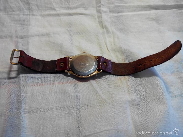 Relojes de pulsera: ANTIGUO RIVER SUIZO - AÑOS 50. FUNCIONANDO BIEN. 38 MM. C/C. LLEVA CORREA. FOTOS VARIAS. - Foto 8 - 56498852