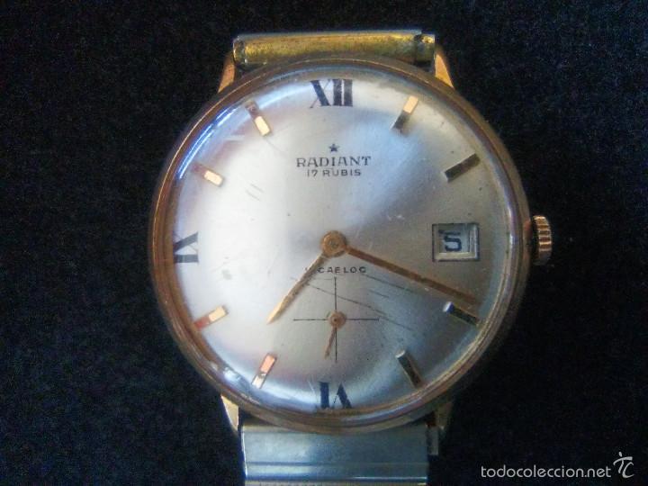 RELOJ MARCA RADIANT DE CUERDA, 17 RUBIS (Relojes - Pulsera Carga Manual)