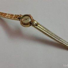 Relojes de pulsera: RELOJ DE ORO ZYMA AÑOS 50. Lote 56722901