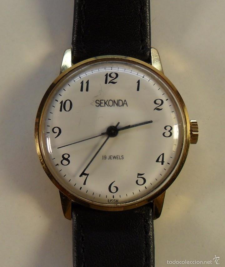 e985294373f3 Vintage reloj sekonda de pulsera para hombre - - Vendido en Subasta ...