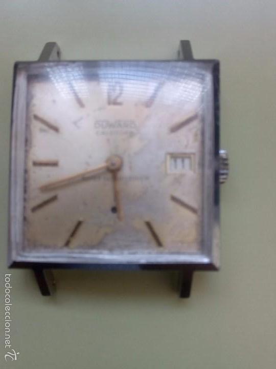 Relojes de pulsera: Dos relojes cuadrados Duward - Foto 2 - 57088860