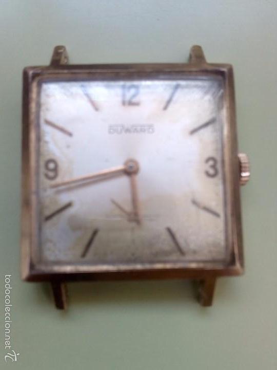 Relojes de pulsera: Dos relojes cuadrados Duward - Foto 5 - 57088860
