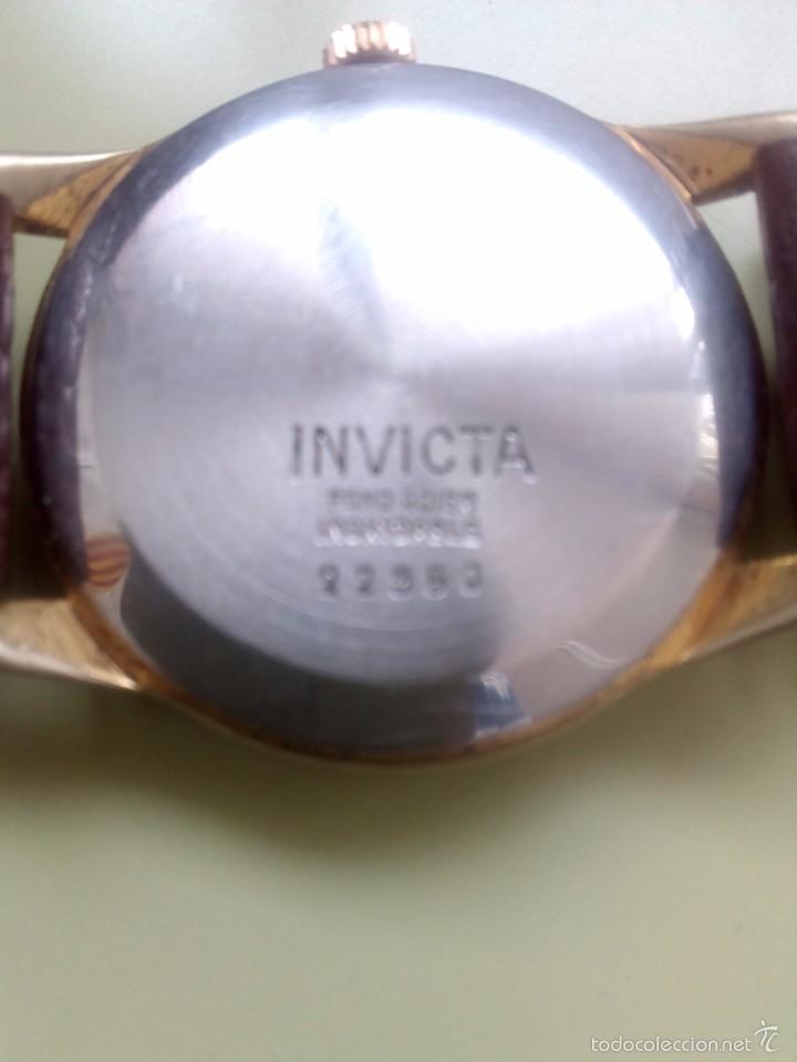 Relojes de pulsera: Antiguo reloj Invicta - Foto 3 - 57089149