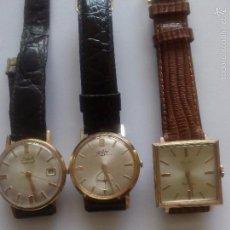 Relojes de pulsera: TRES RELOJES, UN DUWARD AUTOMÁTICO, UN EXACTUS, Y UN DUWARD DIPLOMATIC. Lote 57188597