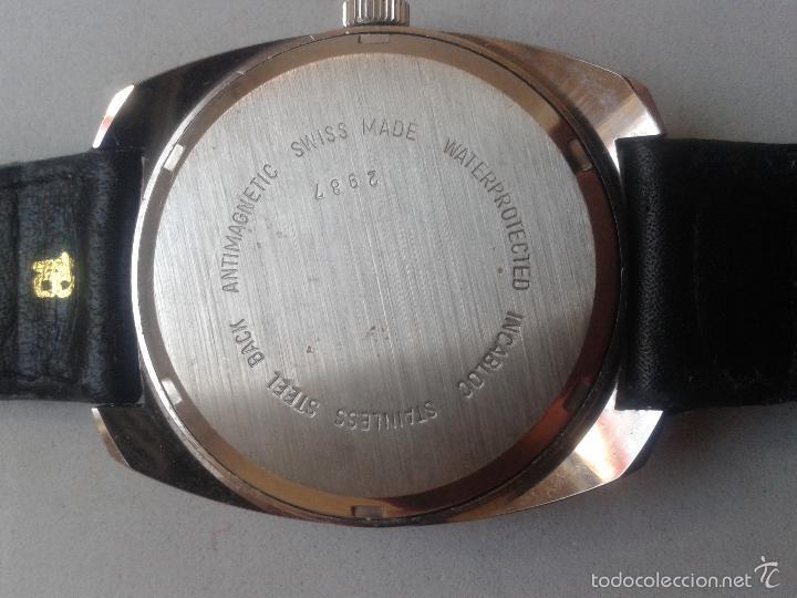 Relojes de pulsera: Reloj Vintage de Caballero. Marca Savar. Incabloc. Funcionando. - Foto 3 - 57255389