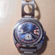 Relojes de pulsera: RELOJ DE CARGA MANUAL MARCA CP ANTICHOC ANCRE 17 RUBIS CAJA Y ARMIS DE ACERO AÑOS 60 ESTADO DE. Lote 57307270