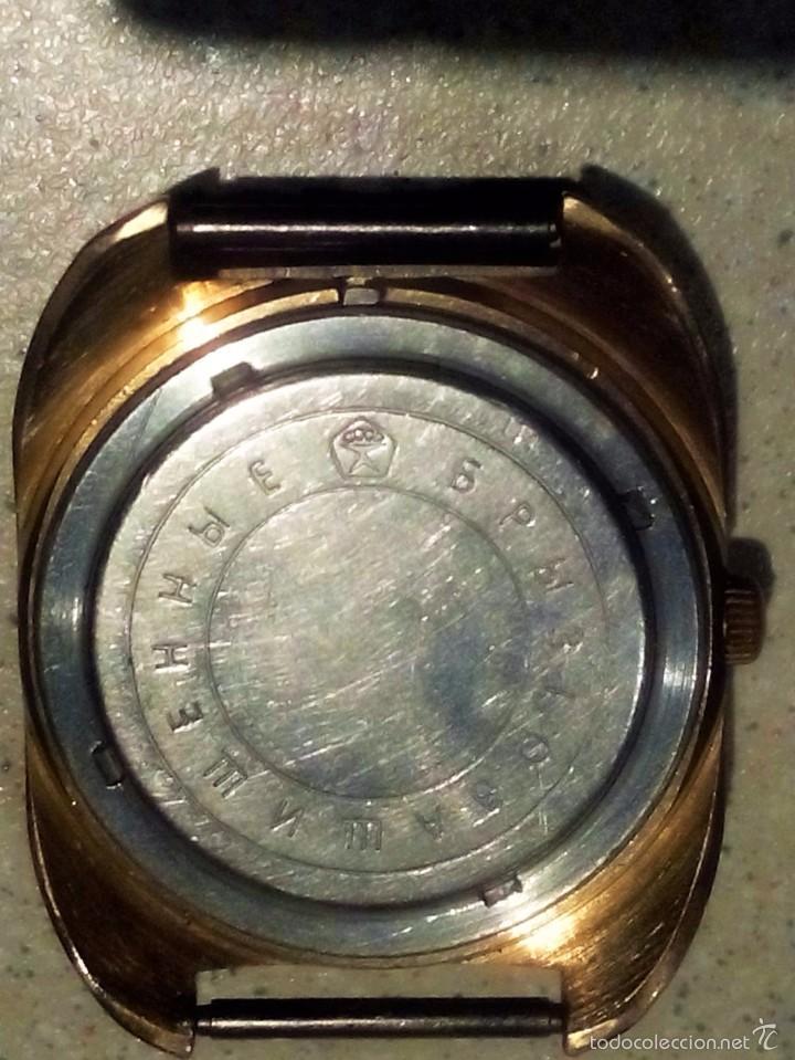 Relojes de pulsera: Reloj ruso Poljot. Mecánico. Vintage. - Foto 2 - 57353376