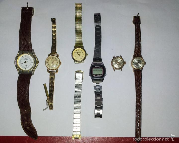 Relojes de pulsera: LOTE DE 6 RELOJES DE PULSERA - Foto 3 - 57413914