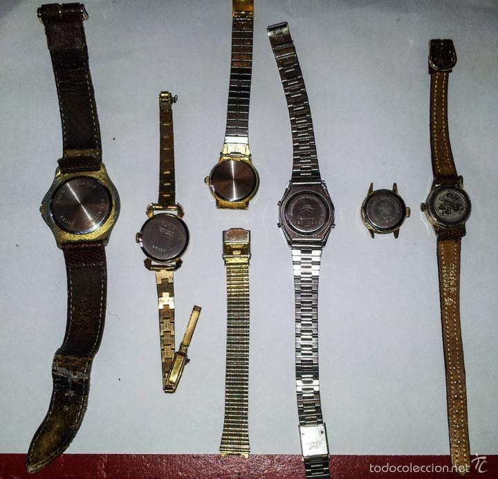 Relojes de pulsera: LOTE DE 6 RELOJES DE PULSERA - Foto 4 - 57413914