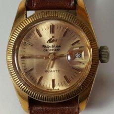 Relojes de pulsera: RE348. RELOJ DE PULSERA PARA SEÑORA. PHILIP WATCH. QUARZO. MADE IN SWISS. AÑOS 50. . Lote 57529931