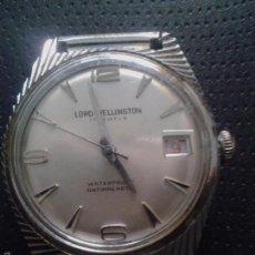 Relojes de pulsera: RELOJ DE PULSERA CABALLERO, LORD WELLINGTON, 17 JEWELS. MADE IN SWSSE.VER FOTOS. Lote 55314773