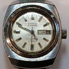 Relojes de pulsera: RE356. RELOJ DE PULSERA PARA SEÑORA. CYMA CONQUISTADOR. SUIZA. CIRCA 1960. . Lote 57586724