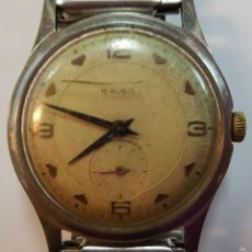 Relojes de pulsera: RE360. RELOJ DE PULSERA PARA CABALLERO. 15 RUBIS. ANTIMAGNETIC. CIRCA 1950. . Lote 57588674
