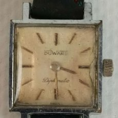 Relojes de pulsera: RE373. RELOJ DE PULSERA PARA SEÑORA. DUWARD, DIPLOMATIC. 15 RUBIS. SUIZA. CIRCA 1960.. Lote 57614242