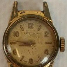 Relojes de pulsera: RE374. RELOJ DE PULSERA PARA SEÑORA. FESTINA. 15 RUBIS. SUIZA. CIRCA 1950. . Lote 57614428