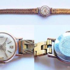 Relojes de pulsera: RELOJ MARCA DUWARD, CHAPADO EN ORO. PARA PIEZAS O RESTAURACIÓN. Lote 57614693