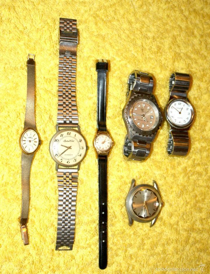 Lote De 6 Relojes Varios Tipos Y Marcas Ver F Comprar Relojes