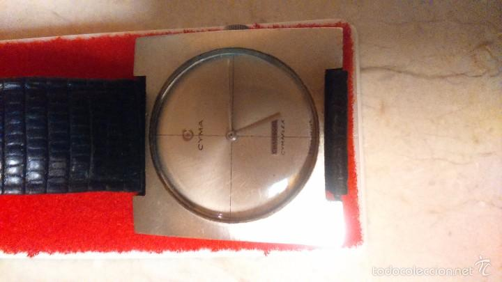 Relojes de pulsera: RELOJ CYMA EXTRA PLANO CHAMBORD CIMAFLEX FUNCIONA. - Foto 2 - 57693675