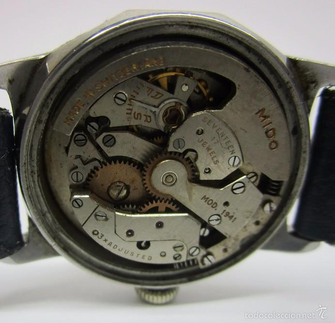 7795f5ad946a RELOJ MIDO MULTIFORT SUPERAUTOMATIC SWISS MADE ANTIGUO COLECCION DAMA  VINTAGE FUNCIONANDO 28mm