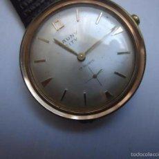 Relojes de pulsera: RELOJ SUIZO CAUNY PRIMA CITY DE LUXE, AÑO 1964.. Lote 56369238
