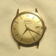 Relojes de pulsera: RELOJ CABALLERO DUWARD CONTINUAL, FUNCIONA. MED. 35 MM SIN CONTAR CORONA. Lote 58435896