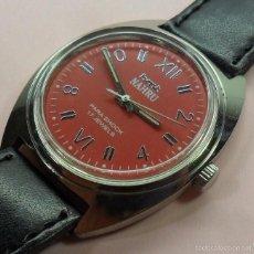 Relojes de pulsera: VINTAGE RELOJ HMT NAHRU MECÁNICO DE PULSERA PARA HOMBRE. AÑOS 70 - 17 JEWELS. Lote 58518028