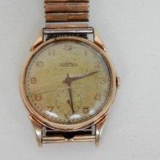 Relojes de pulsera: ANTIGUO RELOJ DE CABALLERO ROAMER. SWISS MADE. GRAN TAMAÑO. Lote 58599753