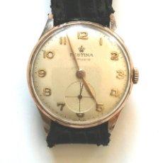 Relojes de pulsera: RELOJ FESTINA 15 RUBIS MADE IN SUIZA, FUNCIONA. MED. 3 CM SIN CONTAR CORONA. Lote 58627651