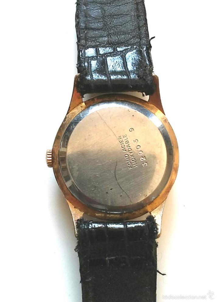 Relojes de pulsera: Reloj Festina 15 rubis Made in Suiza, funciona. Med. 3 cm sin contar corona - Foto 3 - 58627651