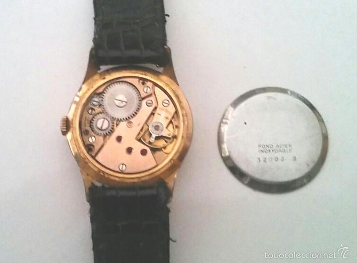 Relojes de pulsera: Reloj Festina 15 rubis Made in Suiza, funciona. Med. 3 cm sin contar corona - Foto 4 - 58627651