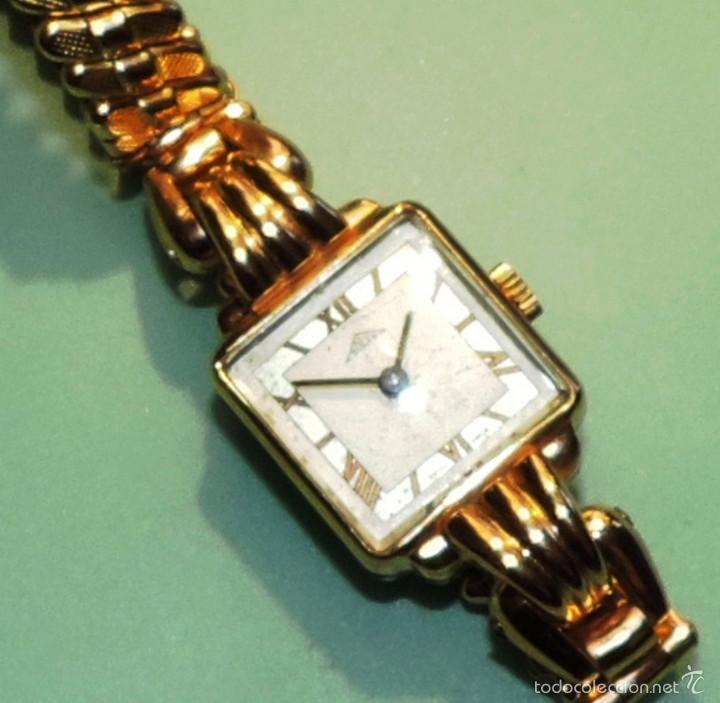Relojes de pulsera: SOLEX SUIZO CHAPADO DE ORO DE 10 MICRAS CIRCA 1.945 - Foto 2 - 58716753