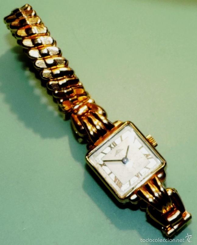 Relojes de pulsera: SOLEX SUIZO CHAPADO DE ORO DE 10 MICRAS CIRCA 1.945 - Foto 4 - 58716753