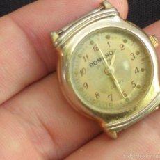Relojes de pulsera: RELOJ DE MUJER MARCA ROMANO DE LUXE JAPAN. Lote 58889421
