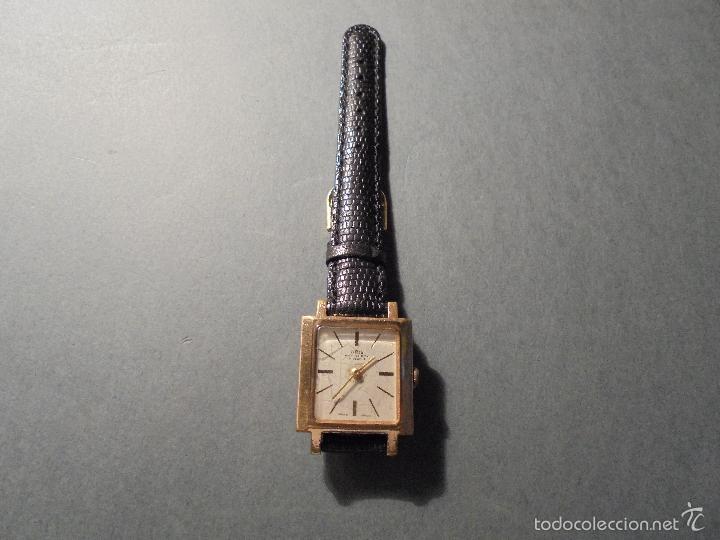 Relojes de pulsera: ANTIGUO RELOJ MARCA ORIS - ANTI-SHOCK 17 JEWELS SWISS MADE CARGA MANUAL FUNCIONANDO - Foto 2 - 59572307