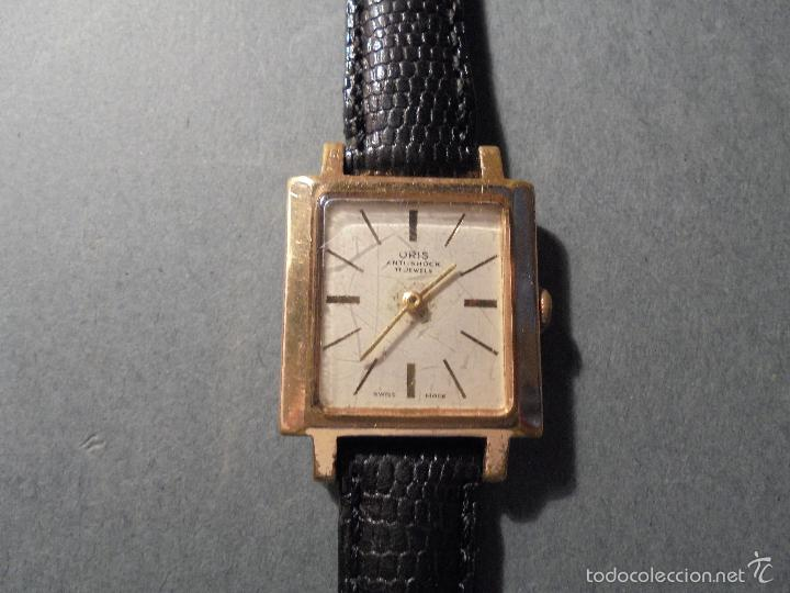 Relojes de pulsera: ANTIGUO RELOJ MARCA ORIS - ANTI-SHOCK 17 JEWELS SWISS MADE CARGA MANUAL FUNCIONANDO - Foto 4 - 59572307