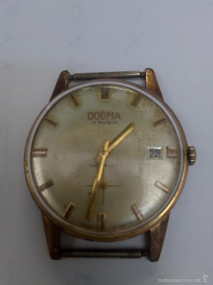 RELOJ DOGMA CON CALENDARIO (Relojes - Pulsera Carga Manual)