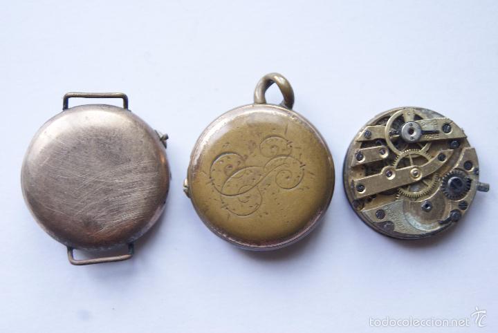 Relojes de pulsera: LOTE DE 6 RELOJES Y 1 CALIBRE AÑOS 20/30 M12 - Foto 5 - 60831063