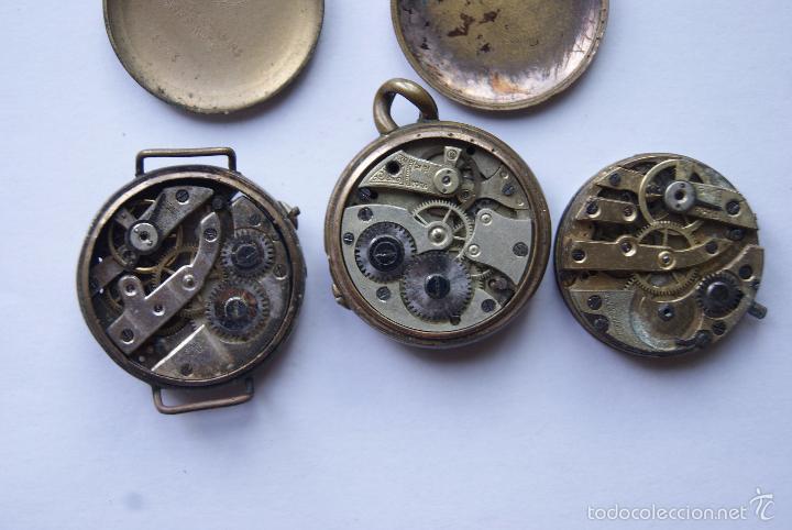 Relojes de pulsera: LOTE DE 6 RELOJES Y 1 CALIBRE AÑOS 20/30 M12 - Foto 6 - 60831063